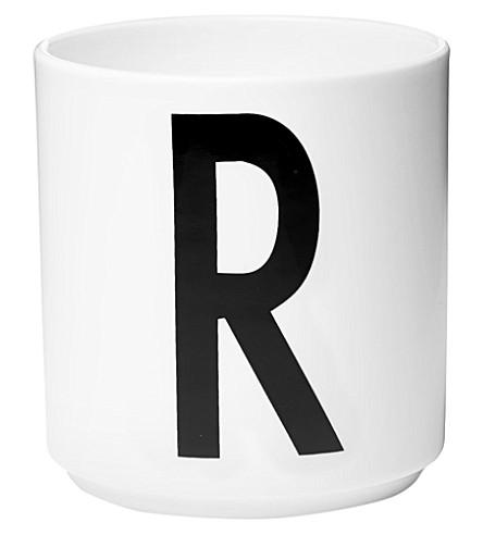 DESIGN LETTERS R porcelain cup