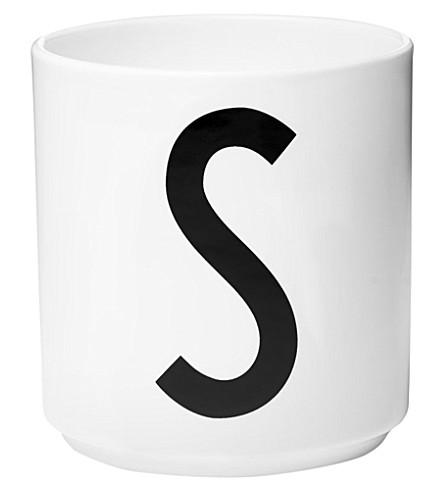 DESIGN LETTERS S porcelain cup