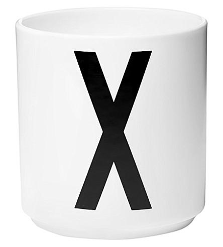 DESIGN LETTERS X porcelain cup