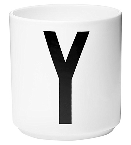 DESIGN LETTERS Y 瓷杯