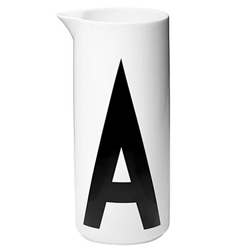 DESIGN LETTERS A porcelain jug 1L