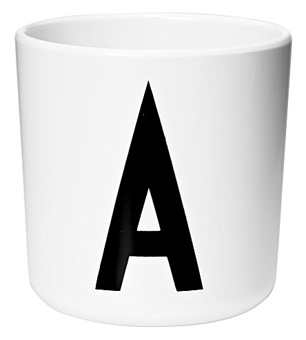 DESIGN LETTERS Melamine cup A
