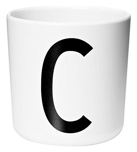 DESIGN LETTERS Melamine cup C