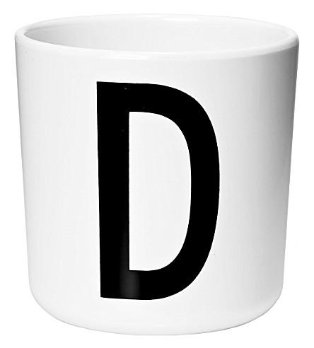 DESIGN LETTERS Melamine cup D