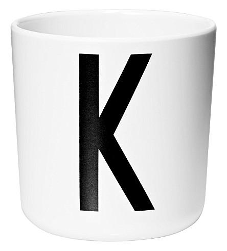 DESIGN LETTERS Melamine cup K