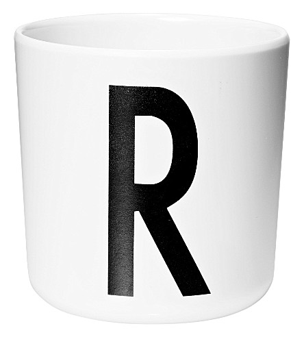 DESIGN LETTERS Initial melamine cup r