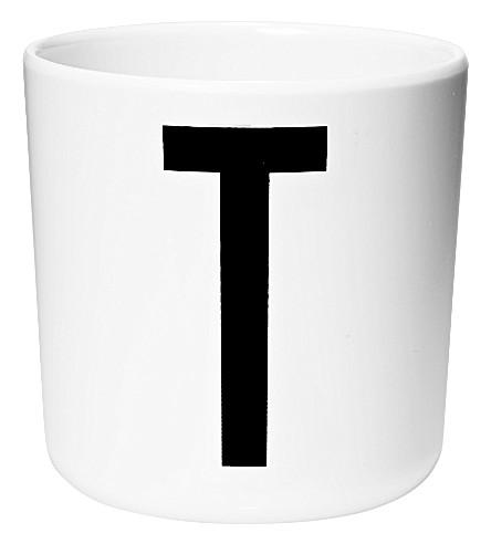 DESIGN LETTERS Initial melamine cup t