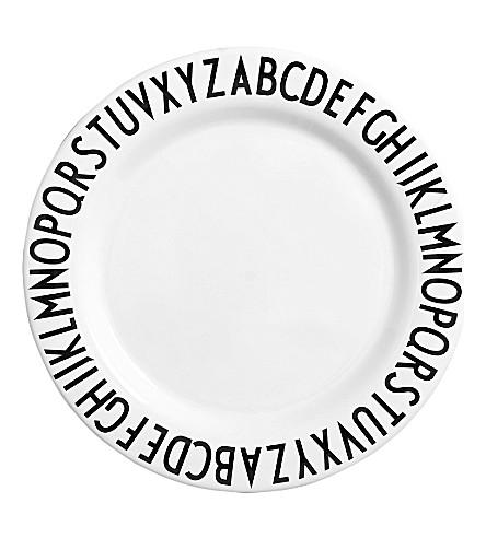 DESIGN LETTERS Melamine plate