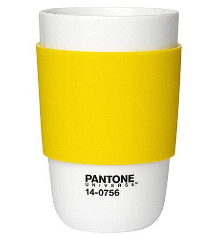 PANTONE Empire Yellow classic cup