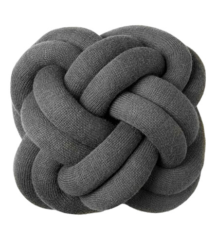 DESIGN HOUSE STOCKHOLM Dhs knot cushion, grey