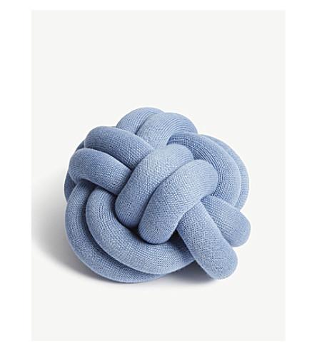 DESIGN HOUSE STOCKHOLM Knot wool-blend cushion 27x27cm