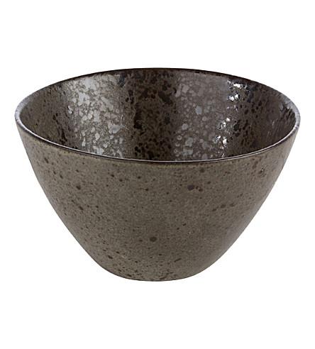 RUSTICO STONEWARE Ironstone deep bowl 15cm