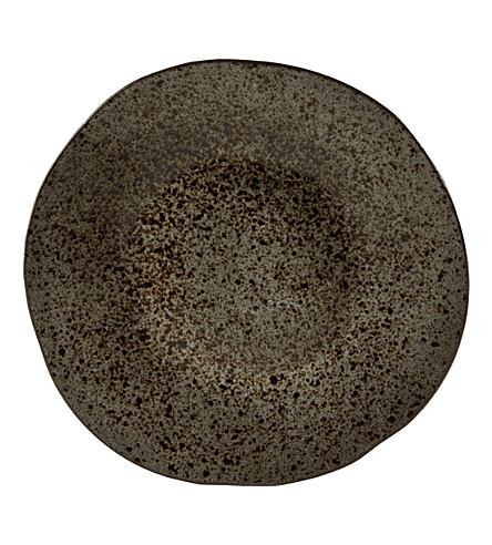 RUSTICO STONEWARE Ironstone main plate 28.5cm