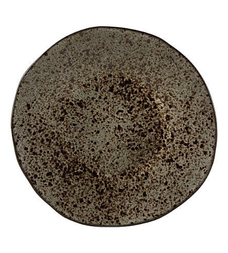 RUSTICO STONEWARE Ironstone dessert plate 21cm
