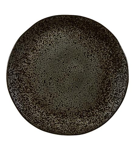 RUSTICO STONEWARE Ironstone presentation plate 31.5cm