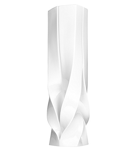 ZAHA HADID Braid tall vase
