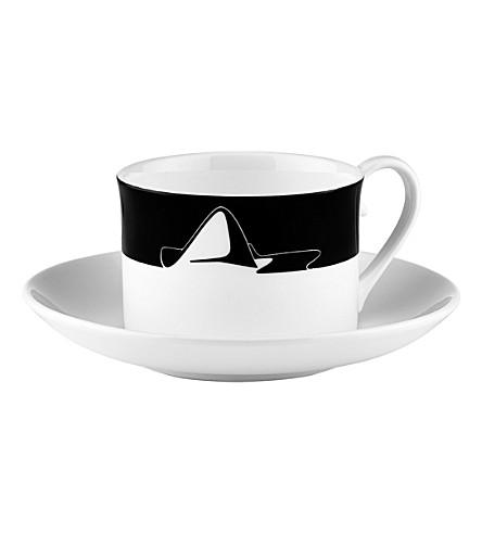 ZAHA HADID 图标巴库茶叶茶杯和茶碟