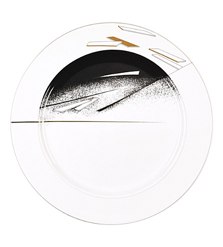 ZAHA HADID Beam set of 2 dinner plates