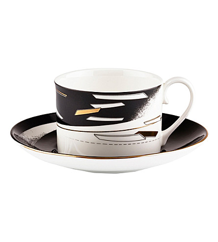 ZAHA HADID Beam set of 2 tea cup and saucer