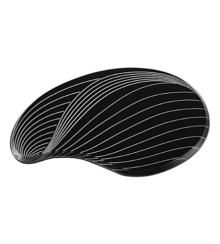 ZAHA HADID Contour set of two acrylic coasters