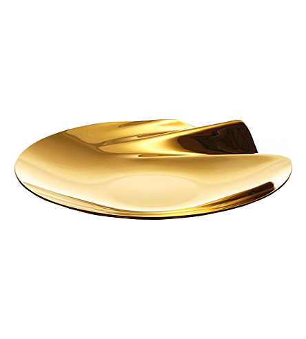 ZAHA HADID Serenity medium stainless steel bowl