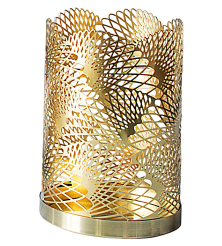 SKULTUNA 1607 Celestial brass candle holder