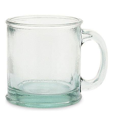 JARAPA Recycled glass mug 350ml