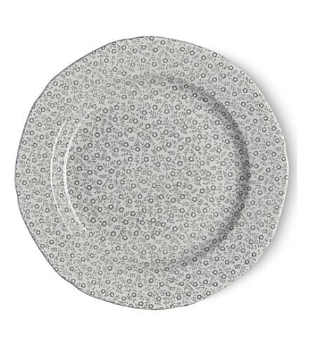 BURLEIGH Felicity dove grey ceramic plate 21.5cm