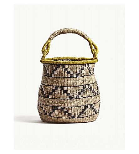 DASSIE ARTISAN Abayomi hand-woven storage basket 30cm