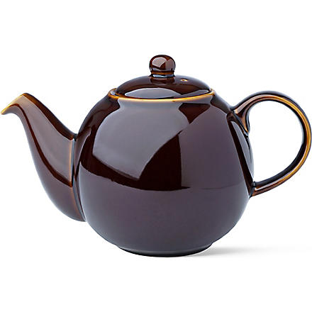LONDON POTTERY Six cup teapot (Brown