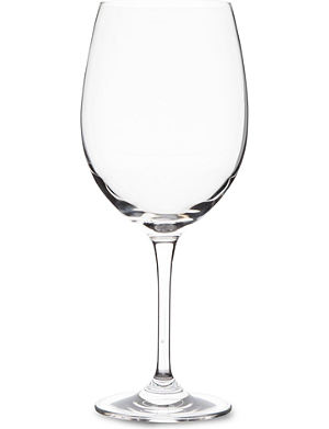DARTINGTON Orbit large crystal red wine glass