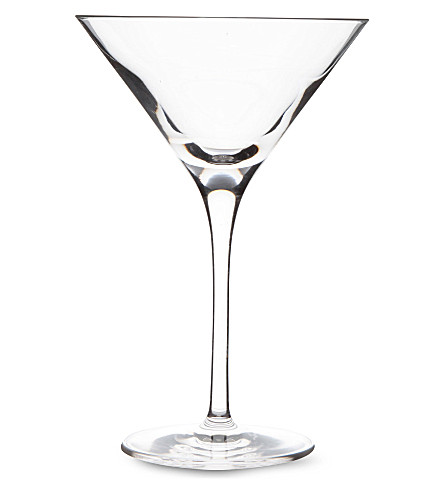 DARTINGTON Orbit crystal martini glass