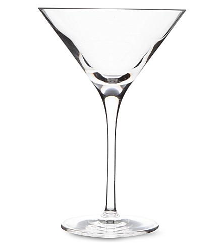 DARTINGTON Orbit crystal martini glass