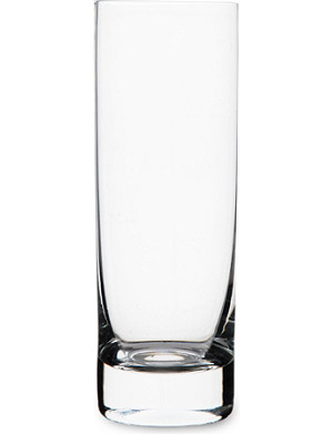 DARTINGTON Orbit crystal slim highball glass