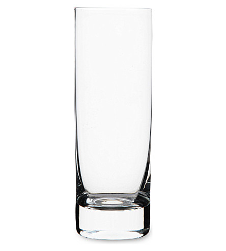 DARTINGTON Orbit crystal slim highball glass