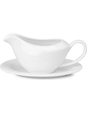 MAXWELL & WILLIAMS Cashmere gravy boat and saucer