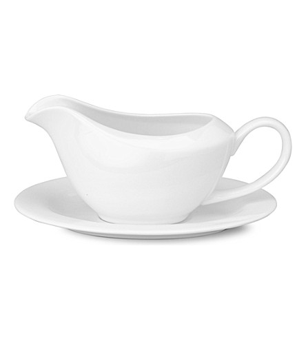 MAXWELL & WILLIAMS Cashmere gravy boat and saucer (Cashmere