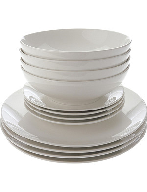 MAXWELL & WILLIAMS 12-piece coupe dinner set