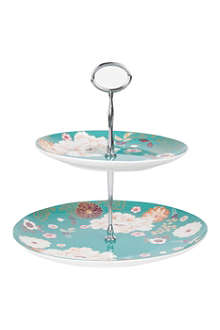 MAXWELL & WILLIAMS Kimono two-tier cake stand