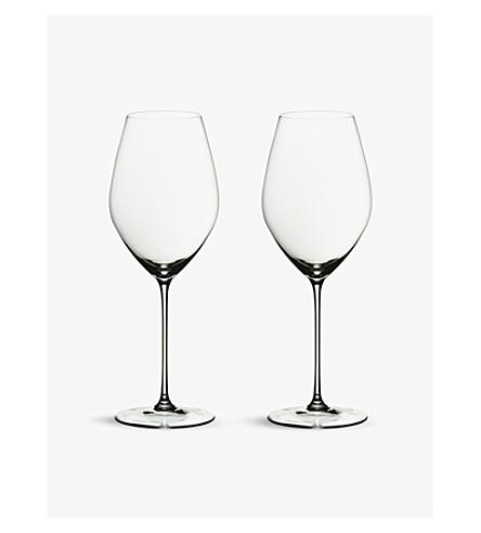 RIEDEL Veritas champagne glasses pair