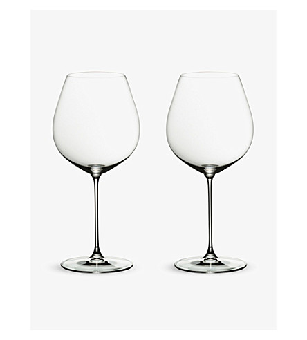 RIEDEL Veritas Old World Pinot Noir glass twin-pack