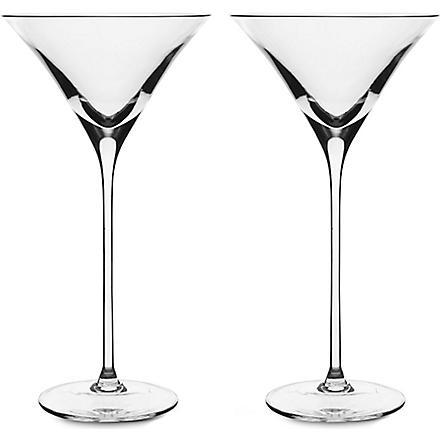 LSA Bar pair of cocktail glasses