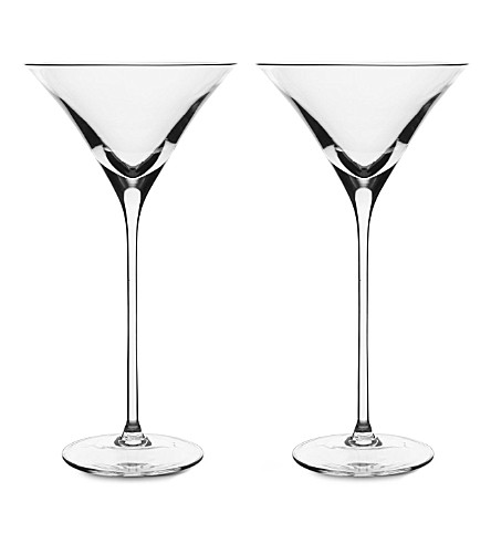 LSA Bar pair of cocktail glasses