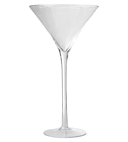 LSA Maxa giant cocktail glass display 65cm