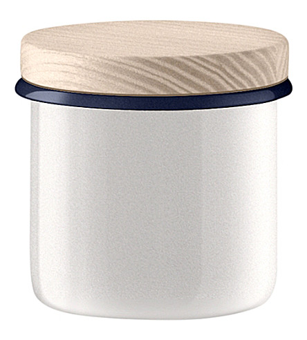LSA Steel utility container with ash lid