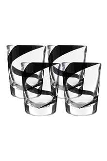 LSA Jazz set of four tumblers