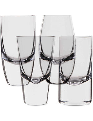 LSA Lulu set of four shot glasses