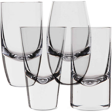 LSA Lulu set of four shot glasses