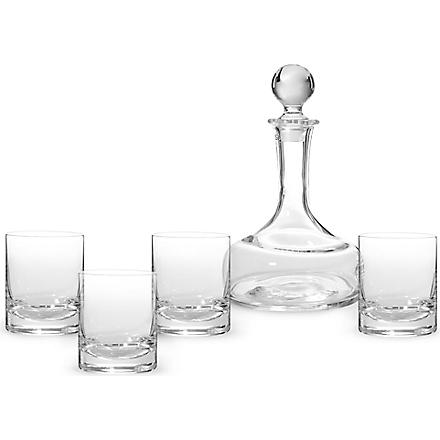 LSA Glass whiskey set