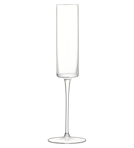 LSA Otis champagne flutes set of four